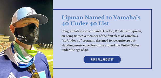 Lipman Named to Yamaha List