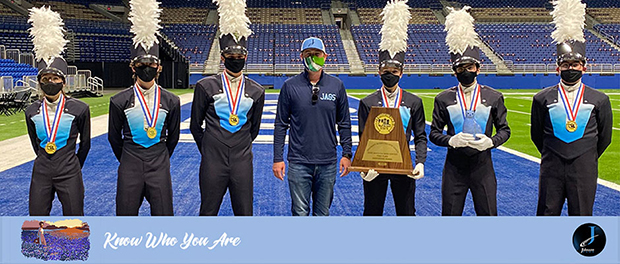 Johnson wins state marching championship