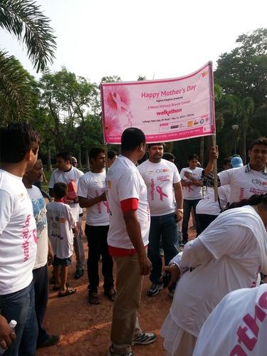 Walkathon for Breast Cancer, Lal Bagh