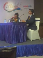 Chairing at AICOG