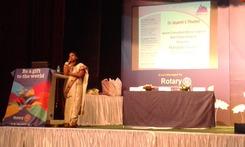 At Rotary meet