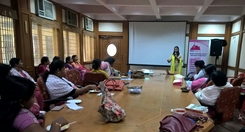 Talk at IAS Officers' wives' association
