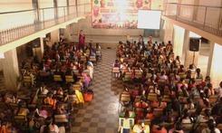Camp organised by Rotary at Nelamangala