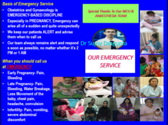 Our EMERGENCY PATIENT CARE