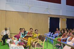 Dr. Jayanthi encouraging participants