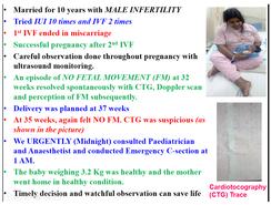 IVF, Male Infertility, Emergency C-Section
