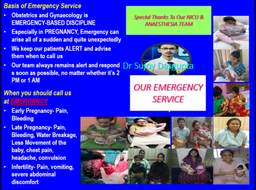 Our EMERGENCY PATIENT SERVICE