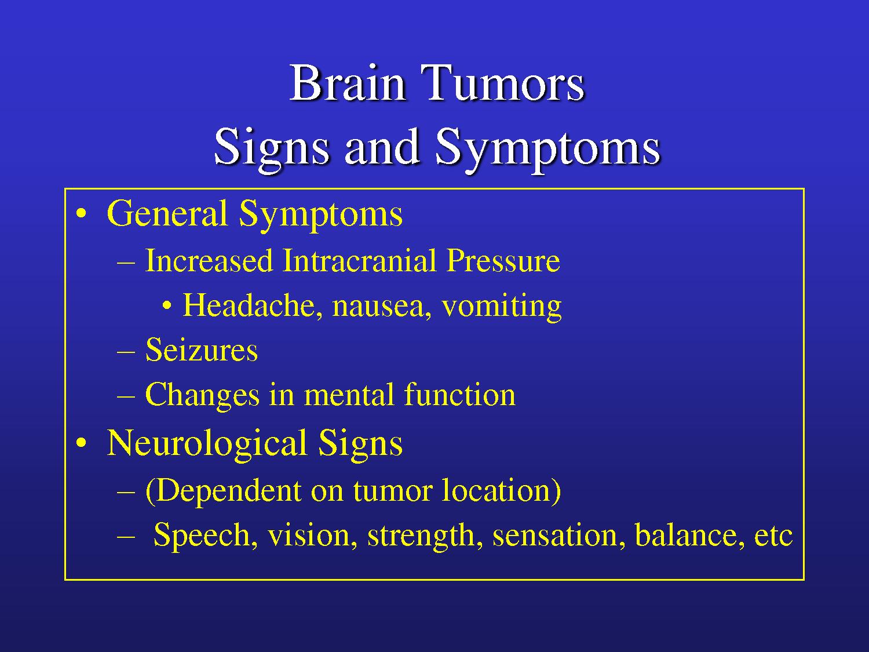 brain symptoms tumor driverlayer search engine