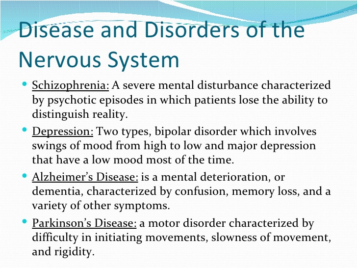 An Overview of Nervous System Disorders