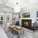 Taking design excellence to a premium standard, this newly constructed residence is simply spectacular and is finished with high-end inclusions to offer a stunning traditional home. It has been expertly designed to provide a spacious sanctuary tucked away south of the highway on a large .65 acres in one of the area's most exclusive leafy locations in Amy's Lane. The home is destined to become the East Hamptons' benchmark for living and entertaining excellence with its relaxed resort-like environment and emphasis on space and quality.