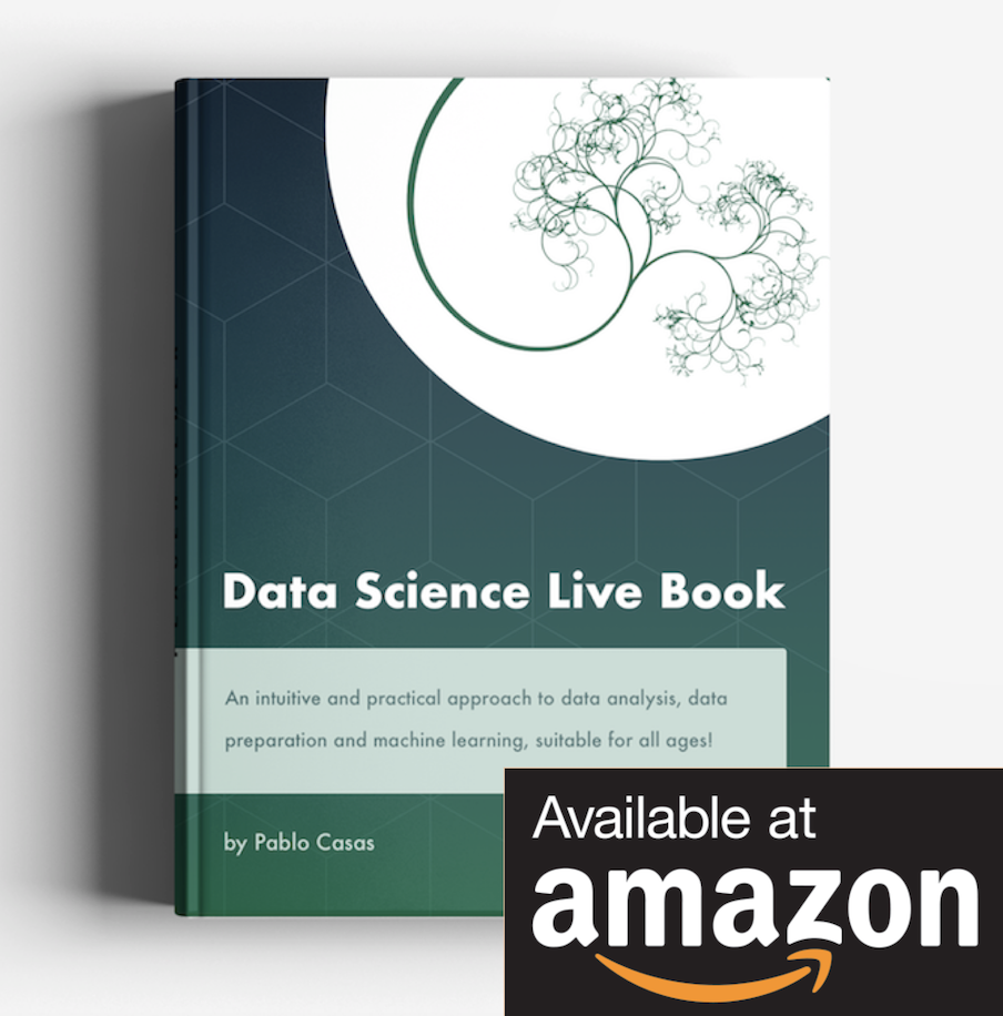 Data Science Live Book at Amazon