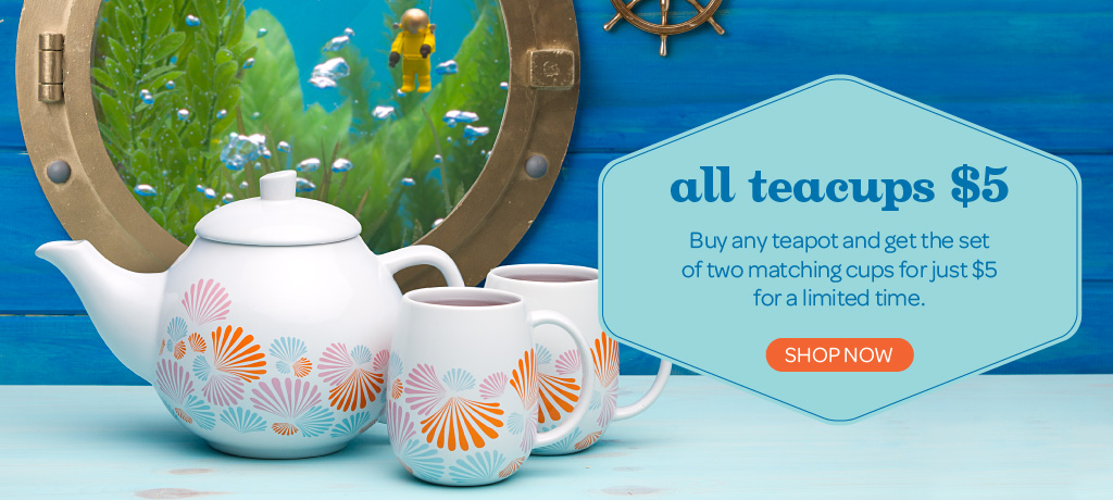 Buy A Teapot, Get Teacups For $5