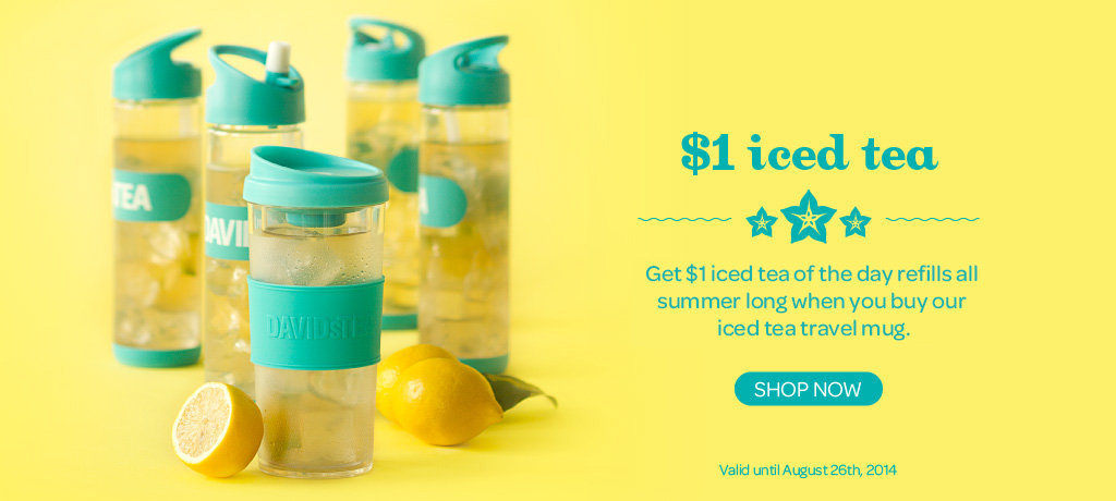 Join The $1 Iced Tea Club