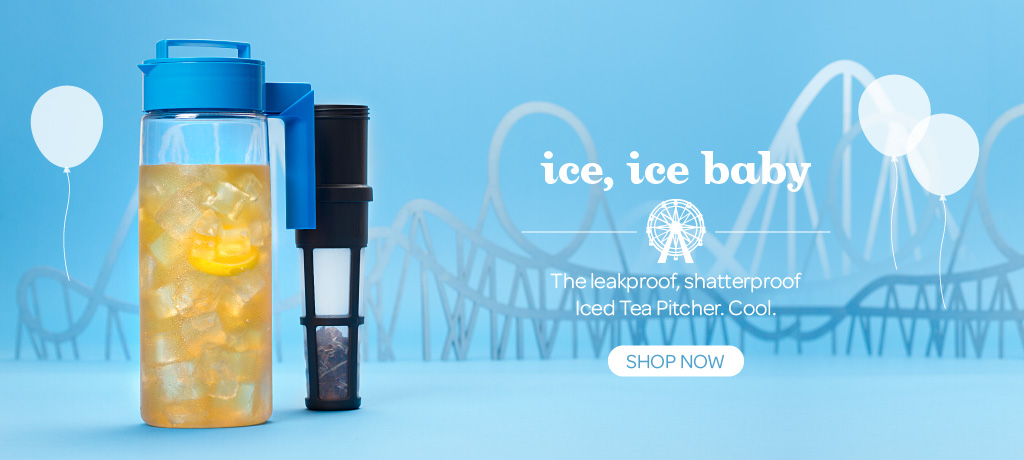 Ice Ice, Baby: Our Oolong Blue Takeya Pitcher