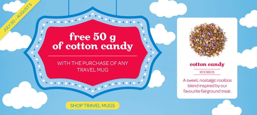 Free Tea When You Buy Any Travel Mug