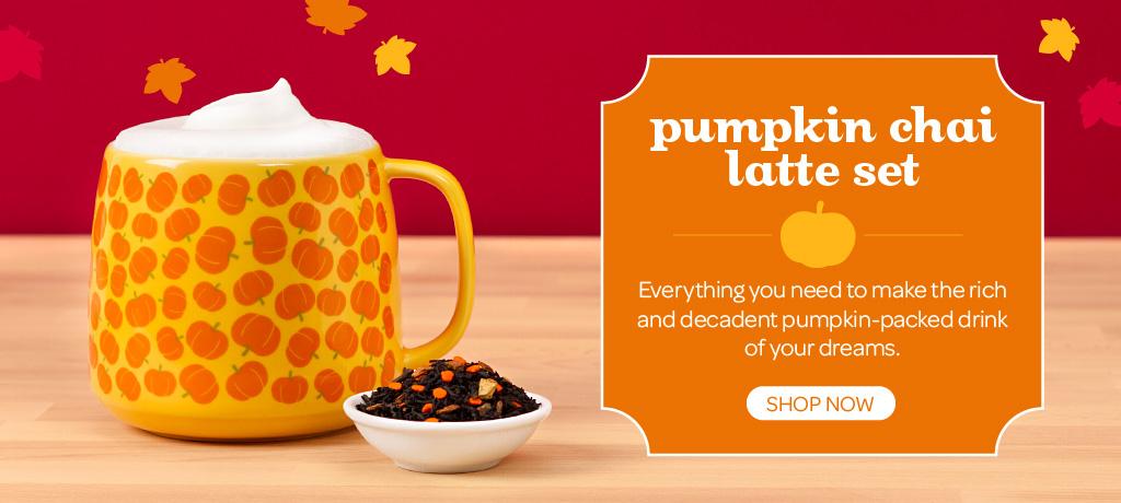 Shop The Pumpkin Chai Latte Set