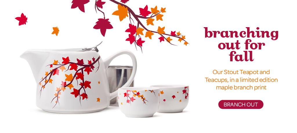 Shop The Fall Stout Teapot