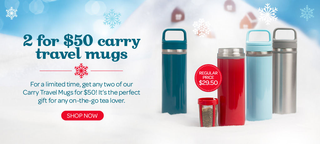 Get Two Carry Mugs for $50
