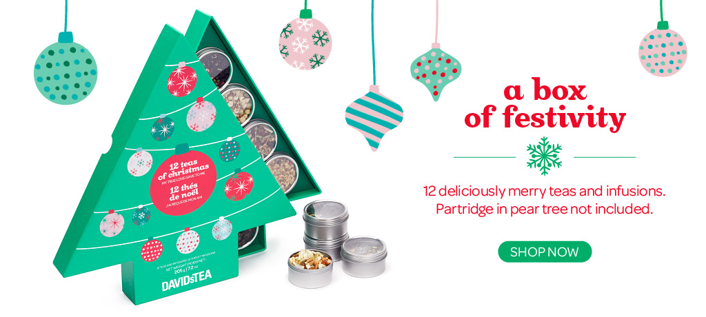 Shop The 12 Teas of Christmas