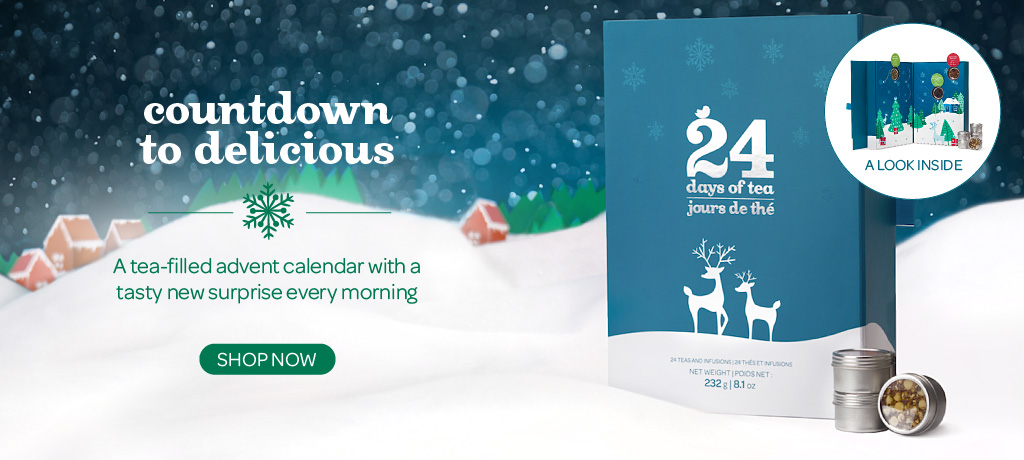 Shop The 24 Days Of Tea Collection