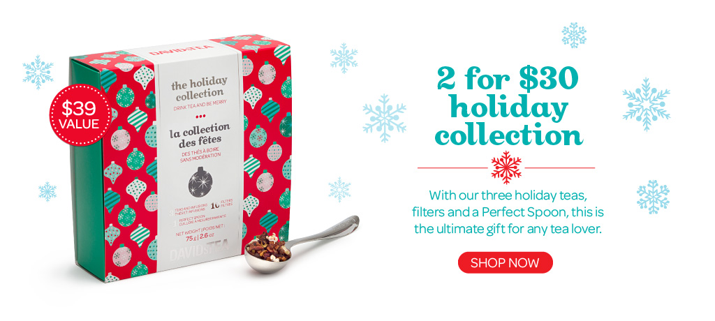 Get two Holiday Collections for $25