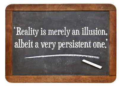 Reality Is An Illusion Albert Einstein Quote