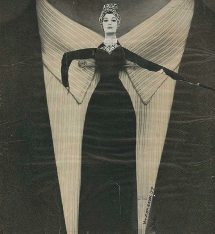 From A La Mode (1958), Photomontage on Board