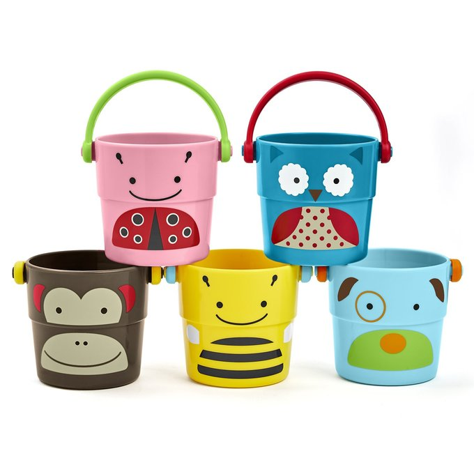 Zoo Stack & Pour Buckets