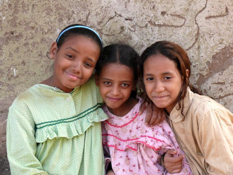 Girls egypt young