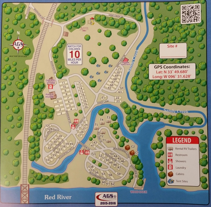River View RV & Recreational Park - Rates, Park Map, and Rules