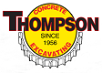 Website for Thompson Excavating & Concrete