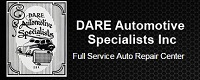 Website for D.A.R.E Automotive Specialists, Inc.