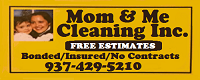 Website for Mom & Me Cleaning