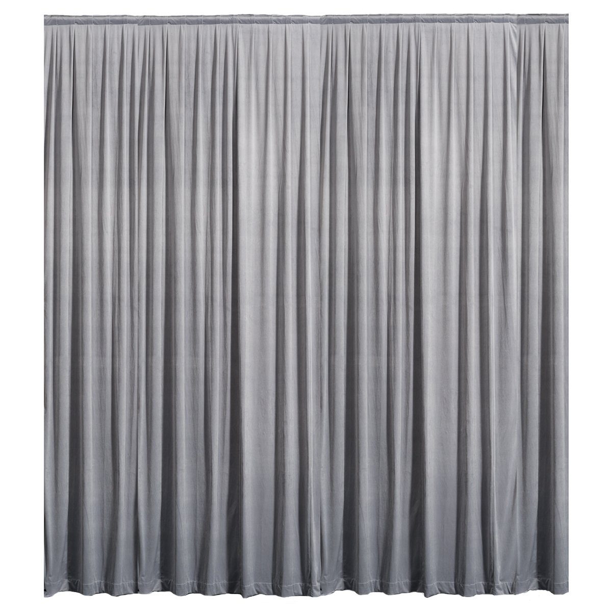 Black and white stage curtain - Carbonight Plus