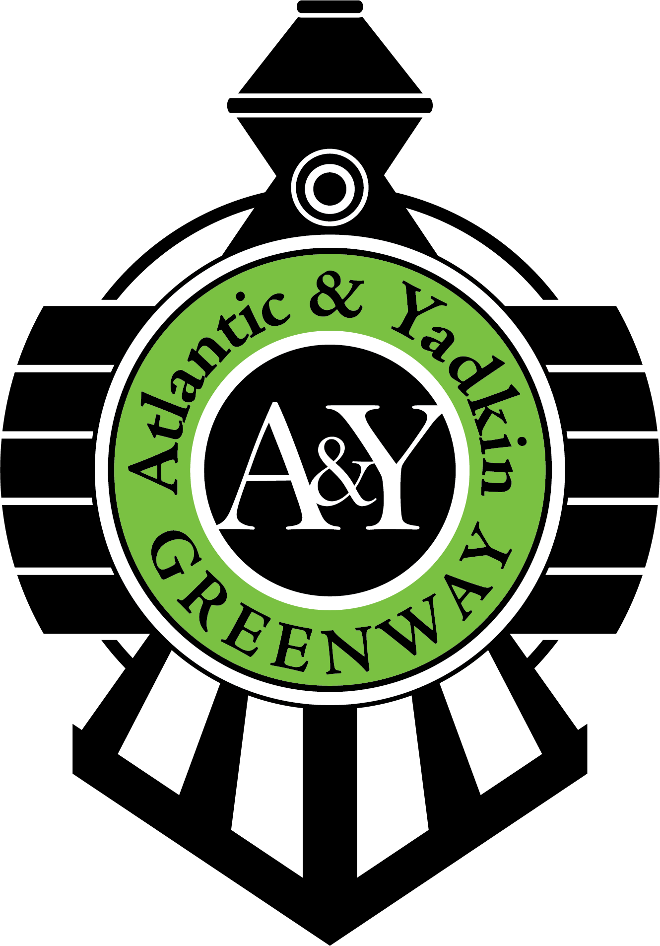 Atlantic and Yadkin Greenway Logo