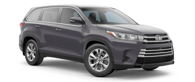 Toyota Highlander Lease Special