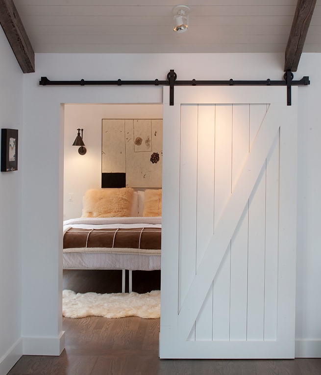 Z Bar Barn Door