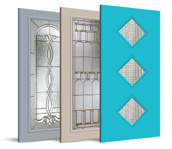 Special Order Exterior Doors - Decorative Glass Collections