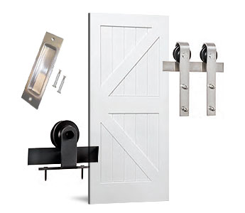 Barn Door Hardware & Kits