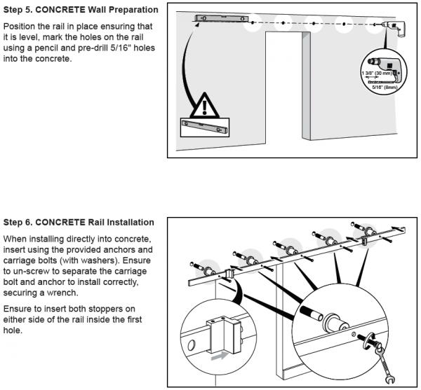 How To Install Barn Door Hardware Mmi Door