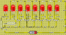a series of diodes