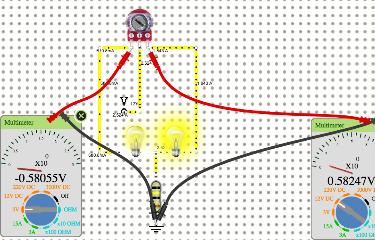 Potentiometer w/2 Bulbs