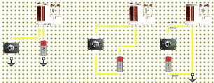 complete circuits ( All 3 are electrically the same )