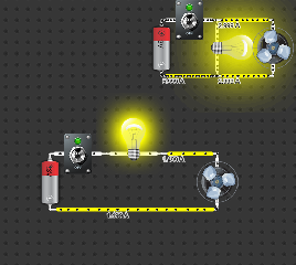Motor Series and Parallel Circuit