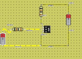NPN Transistor 1.5V