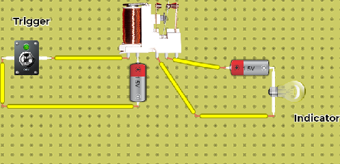 Continuity / Fault Detector Circuit - Simple Theft Detection Circuit