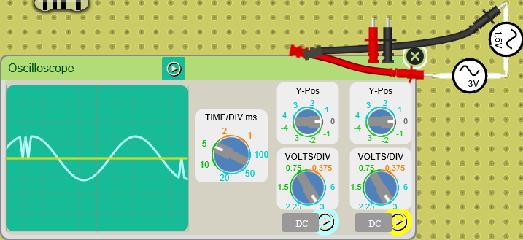 sample osciloscope