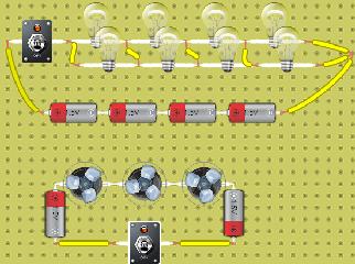 circuito de ventilador y circuito paralelo
