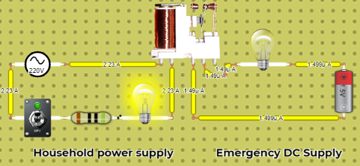 Emergency DC Power supply