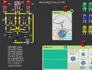 Circuit clignotant 2 LED et 2 Transistors